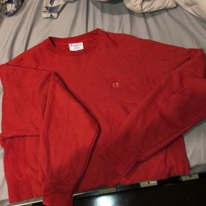 Brand New Cropped Champion Sweatshirt